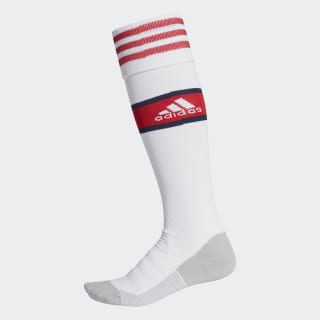 Calcetines Largos Afc H white/scarlet EH5682