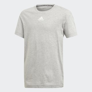 Polera Must Haves 3 Tiras medium grey heather/white ED6480