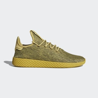 Pharrell Williams Tennis Hu Shoes Pyrite / Pyrite / Chalk White DB2860