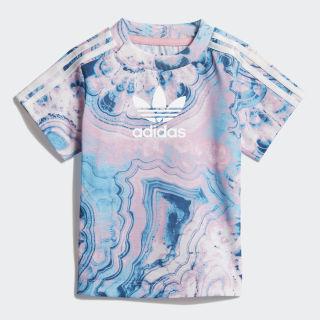 Marble T-Shirt Multicolor / White DV2318