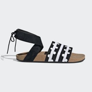 Adilette Ankle Wrap Sandalen Core Black / Cloud White / Core Black EF5630