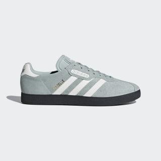 Gazelle Super Shoes Tactile Green / Off White / Carbon CQ2796