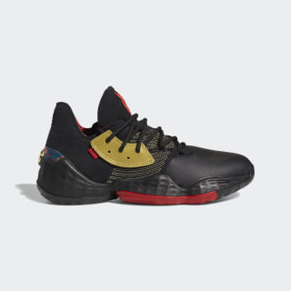 Harden Vol. 4 Shoes Core Black / Gold Metallic / Scarlet FW3136