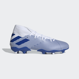 Chimpunes Nemeziz 19.3 Terreno Firme Cloud White / Team Royal Blue / Team Royal Blue EG7202