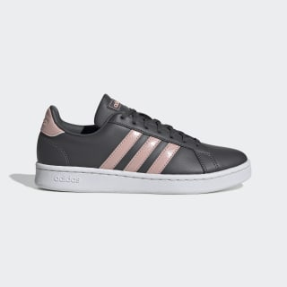 Chaussure Grand Court Grey Six / Pink Spirit / Cloud White EG4014