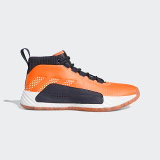Dame 5 Schuh Flash Orange / Cloud White / Legend Ink EF9801