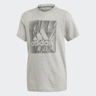 Camiseta Must Haves Box Medium Grey Heather ED7249