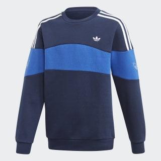Bandrix Sweatshirt Night Indigo / Team Royal Blue / White FM4469