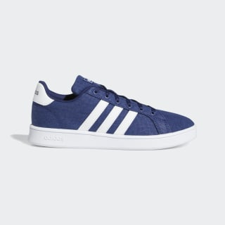 Grand Court Shoes Dark Blue / Cloud White / Grey EG1518