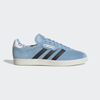 HAGT Gazelle Super Ayakkabı Clear Blue / Core Black / Chalk White G54785