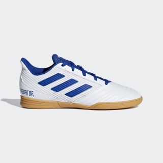 Calzado de fútbol indoor PREDATOR 19.4 IN SALA J ftwr white / bold blue / ftwr white CM8553