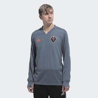 Тренировочный лонгслив ФК Амкал dark grey EW2663