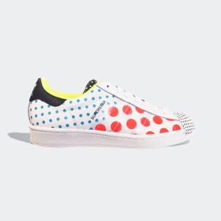 Superstar Shoes Cloud White / Core Black / Solar Red FX7777