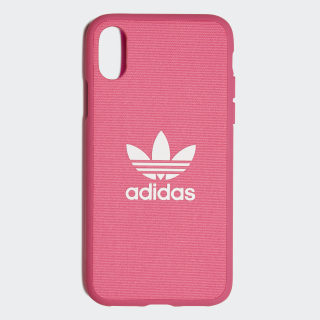 Funda iPhone X Moulded Shock Pink / White CL4890