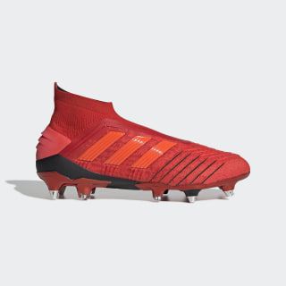 Predator 19+ Soft Ground Boots Active Red / Solar Red / Core Black F35851