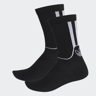 Calcetines Clásicos SPRT de altura media 2 Pares Black FM0714