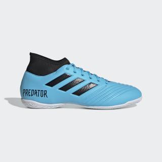 Calzado de Fútbol Predator 19.4 Bajo Techo Bright Cyan / Core Black / Solar Yellow EF0554