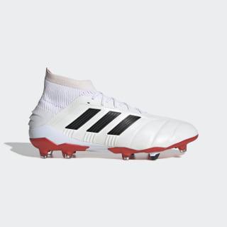 Predator 19.1 25 Year FG Fußballschuh Cloud White / Core Black / Red EE7864