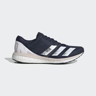 adizero Boston 8 Shoes Collegiate Navy / Cloud White / Echo Pink EH3134
