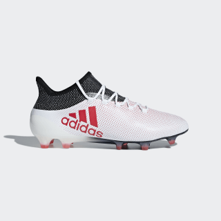 Zapatos de Fútbol X 17.1 Terreno Firme FTWR WHITE/REAL CORAL S18/CORE BLACK CP9161