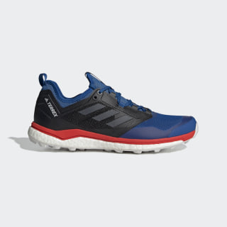 TERREX Agravic XT Schuh Blue Beauty / Grey Five / Active Red BC0420