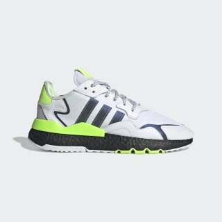 Nite Jogger Shoes Cloud White / Core Black / Signal Green EG6749
