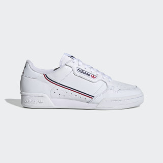 Continental 80 Shoes Cloud White / Collegiate Navy / Scarlet EG8129