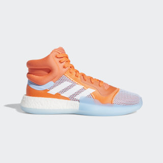 Marquee Boost Schuh Hi-Res Coral / Cloud White / Glow Blue F97276