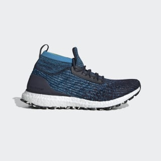 Ultraboost All Terrain Shoes Legend Ink / Legend Marine / Shock Cyan B37698