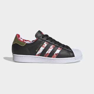Superstar Shoes Core Black / Gold Metallic / Cloud White FW5271