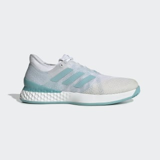 Chaussure Adizero Ubersonic 3 x Parley Cloud White / Blue Spirit / Cloud White CG6376