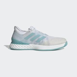 Кроссовки для тенниса Adizero Ubersonic 3 x Parley ftwr white / blue spirit / ftwr white CG6376