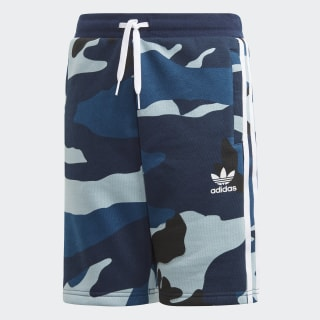 Camouflage Shorts Multicolor / White DW3836