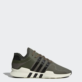 EQT Support ADV Primeknit Shoes Major / Core Black / Branch BY9394