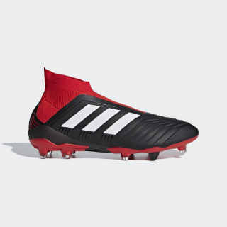 Chuteira Predator 18+ Campo CORE BLACK/FTWR WHITE/RED DB2012