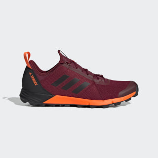 Terrex Speed Shoes Collegiate Burgundy / Core Black / Solar Orange G26390