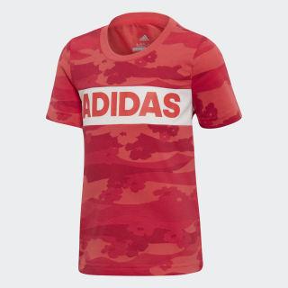 Camiseta LG SUMMER SHIRT Pink /  White DW4071