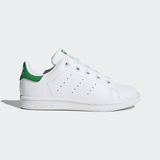 Stan Smith Shoes Cloud White / Cloud White / Green BA8375