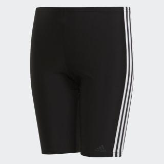 Plavky 3-Stripes Black / White DP7550