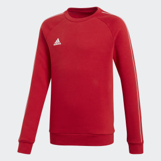 Core 18 Sweatshirt Power Red / White CV3970