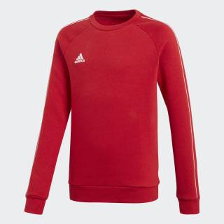 Core 18 Sweatshirt Power Red / White CV3970