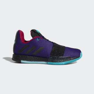 Harden Vol. 3 Shoes Collegiate Purple / Core Black / Hi-Res Aqua B42005