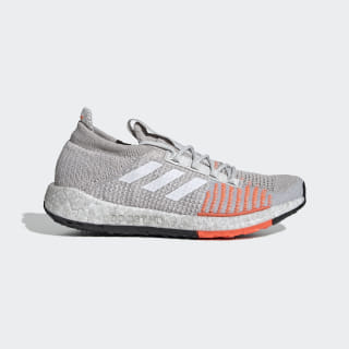 Pulseboost HD Shoes Grey One / Cloud White / Hi-Res Coral G26934