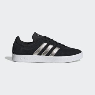 VL Court 2.0 Shoes Core Black / Platinum Metallic / Cloud White EE6784