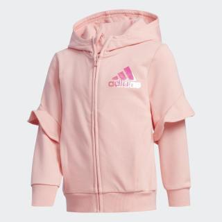 Polera con capucha Felpa Francesa Style Glory Pink FM9708