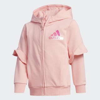 Veste à capuche Style French Terry Glory Pink FM9708