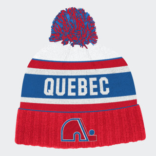 Bonnet Nordiques Cuffed Knit Pom Nhl-Qno-520 / Red FH8848