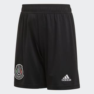 Shorts Uniforme Titular Selección de México 2019 Niño black / white DP0213