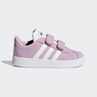 VL Court 2.0 Shoes True Pink / Cloud White / Grey Six F36396