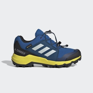 Terrex GORE-TEX Hiking Shoes Blue Beauty / Grey One / Shock Yellow BC0599